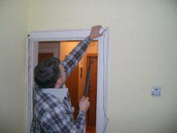 senų durų demontavimas