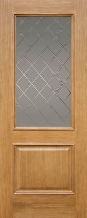 Faneruotų durų varčios Grand PO ąžuolo spalvos