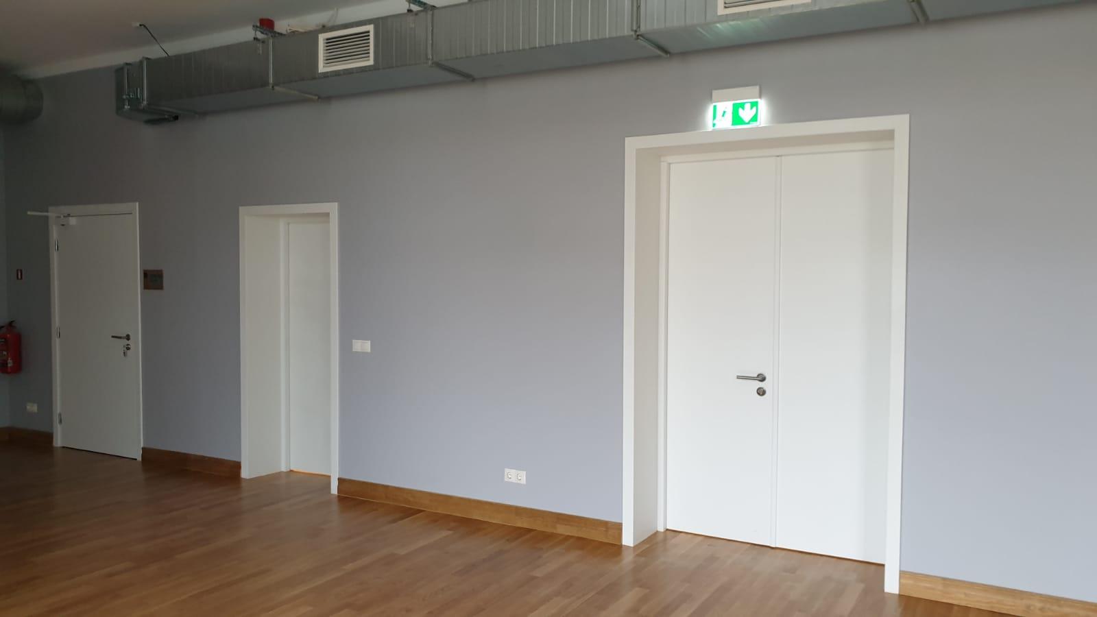 Priešgaisrinės plieninės durys FD 30