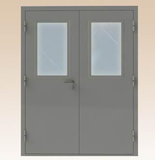 Priešgaisrinės plieninės durys