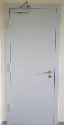 Priešgaisrinės plieninės durys FD 30 vienvėrės