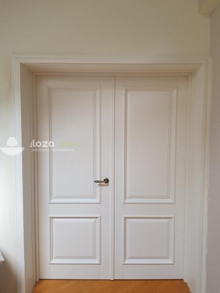 durys klassico-12 baltos spalvos