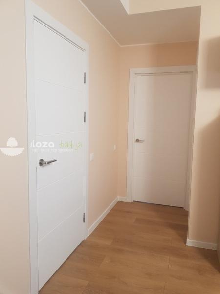 dažytos durys PG 11 baltos spalvos