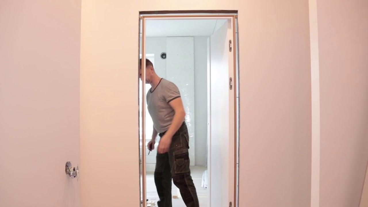 Kaip įstatyti duris pačiam