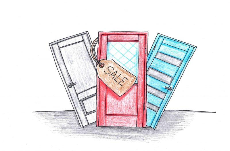 Kaip geras duris nusipirkti su didele nuolaida