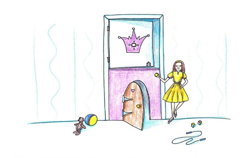 Dėl ko nerimauja tėvai rinkdamiesi vaikų kambario duris