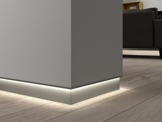 Aliuminio grindjuosčių