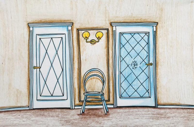 Klasikinės vidaus durys