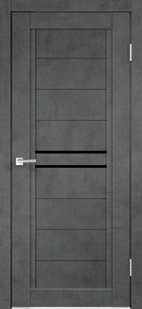 Ekofaneruotos vidaus durys Next-2 tamsus betonas