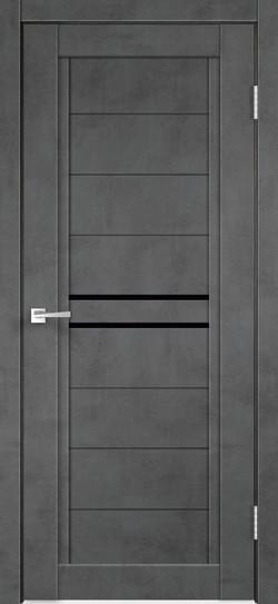 Ekofaneruotos durys Next-2 tamsus betonas