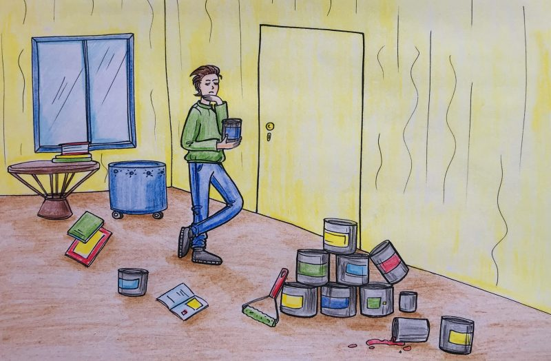 Kuo gruntuoti ir dažyti nematomas duris (invisible)